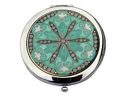 Borsetta Lady Fiore Regalo Il Per Perfetto Specchio Compatto Design a6dWxAwq67