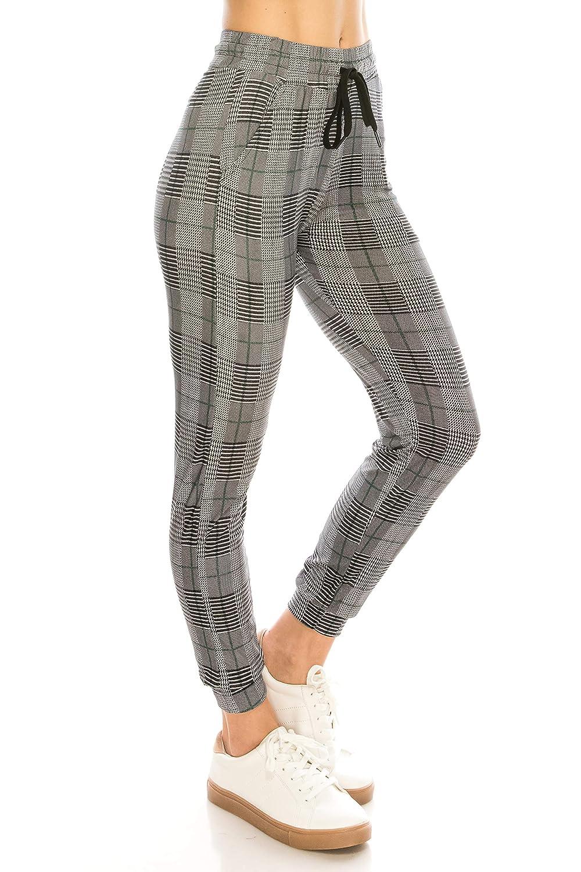 Super Light Skinny Fit Premium Soft Stretch Pockets Pants ALWAYS Women Drawstrings Jogger Sweatpants