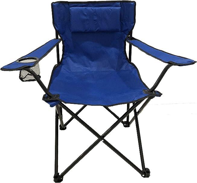 Noir Homecall Chaise de camping