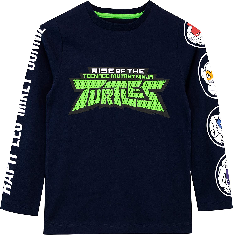 Teenage Mutant Ninja Turtles Long-sleeve Top T-shirt Kids Children/'s Boys Age 3