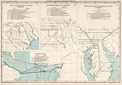 Colonial Map Of Georgia.Amazon Com 1932 Historical Atlas Plate 100 Colonial And State