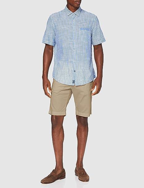 Pierre Cardin Bermuda Cotton Pantalones Cortos para Hombre ...