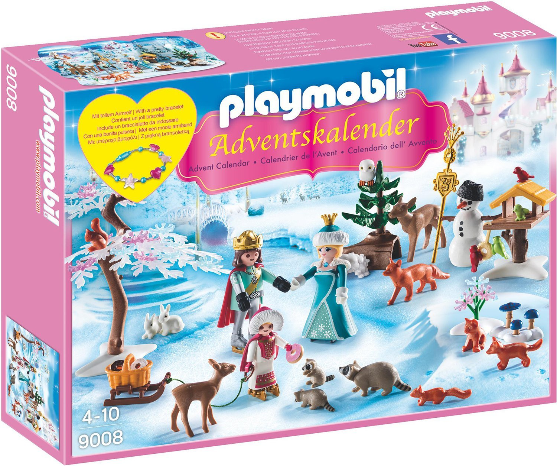 Playmobil 9008 - Adventskalender Eislaufprinzessin im Schlosspark de toys GEOVR