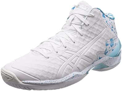 Athletic Shoes Clothing, Shoes & Accessories Asics Gel-burst 21 Ge Hi Aqua Island Blue Men Basketball Shoes Tbf30g-3941