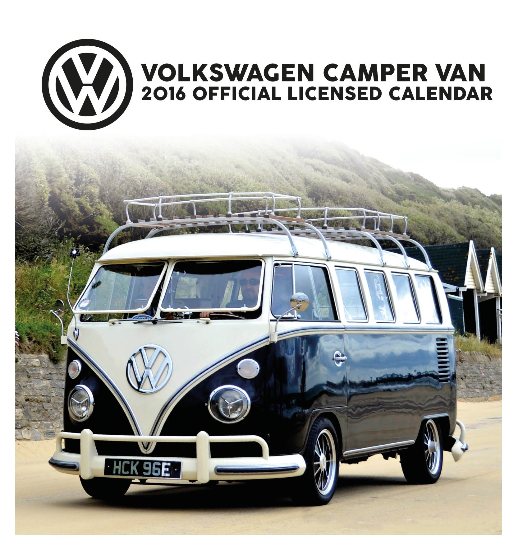 Official VW Camper Van 2016 Desk Easel Calendar Amazoncouk Danilo Books