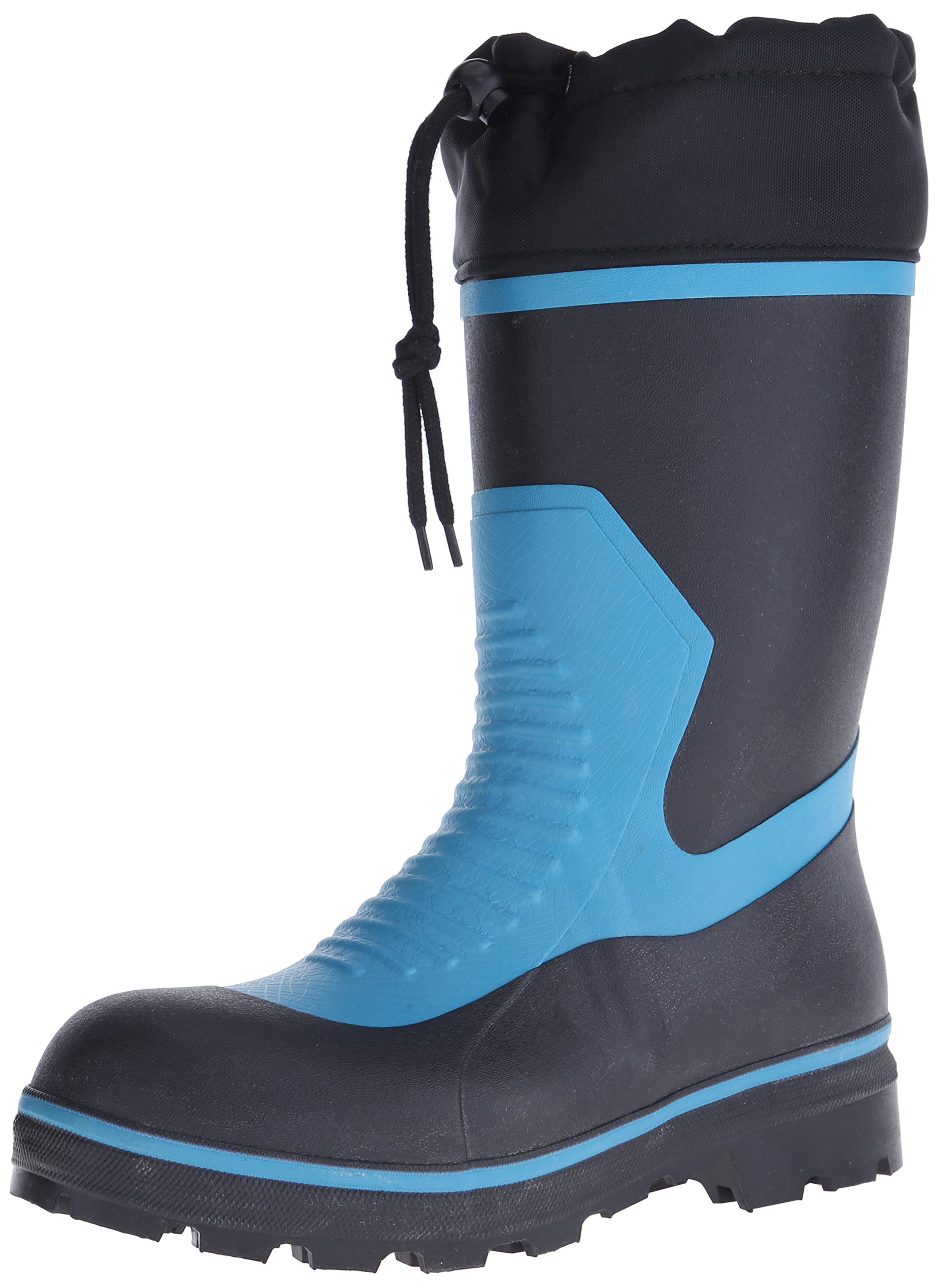 Viking Footwear Harvik by Viking ComfortLite Waterproof Boot, Blue/Black, 9 M US