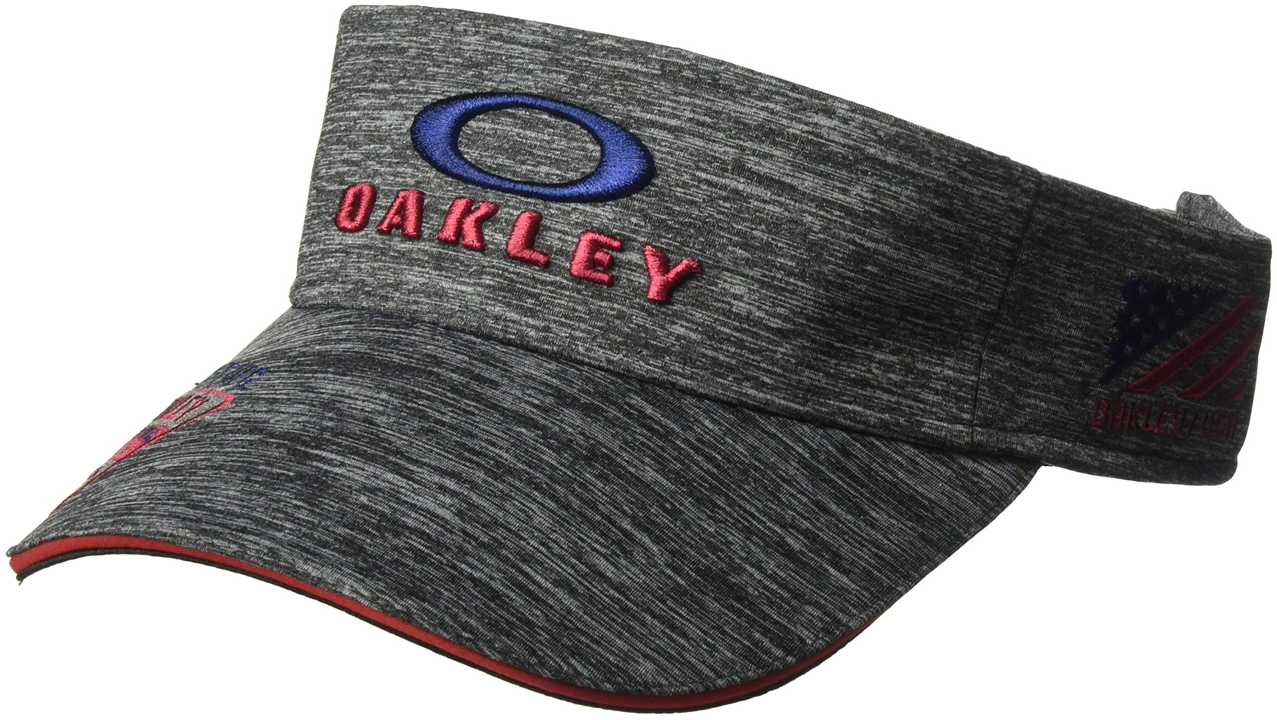 Oakley Men's Bg Emb Visor, Granite Heather, One Size by Oakley