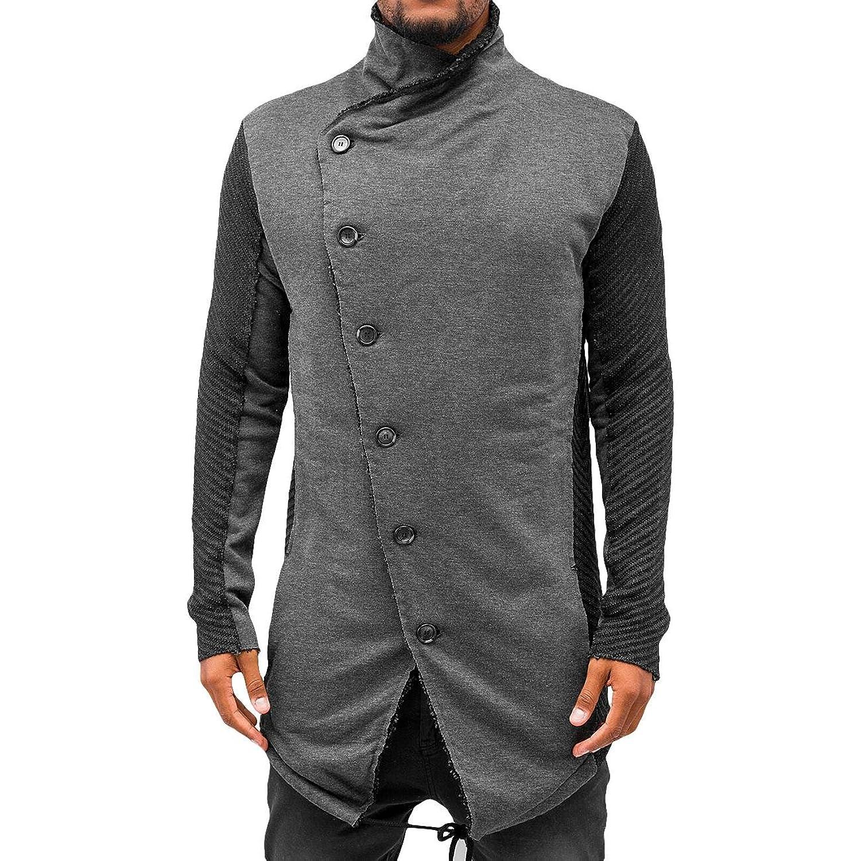 Red Bridge Men's Knitted Jacket grey
