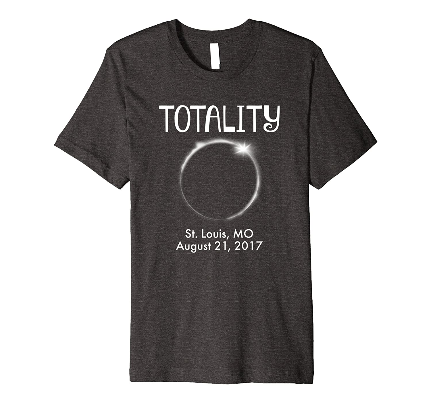 St Louis Missouri Total Solar Eclipse 2017 T shirt-BN