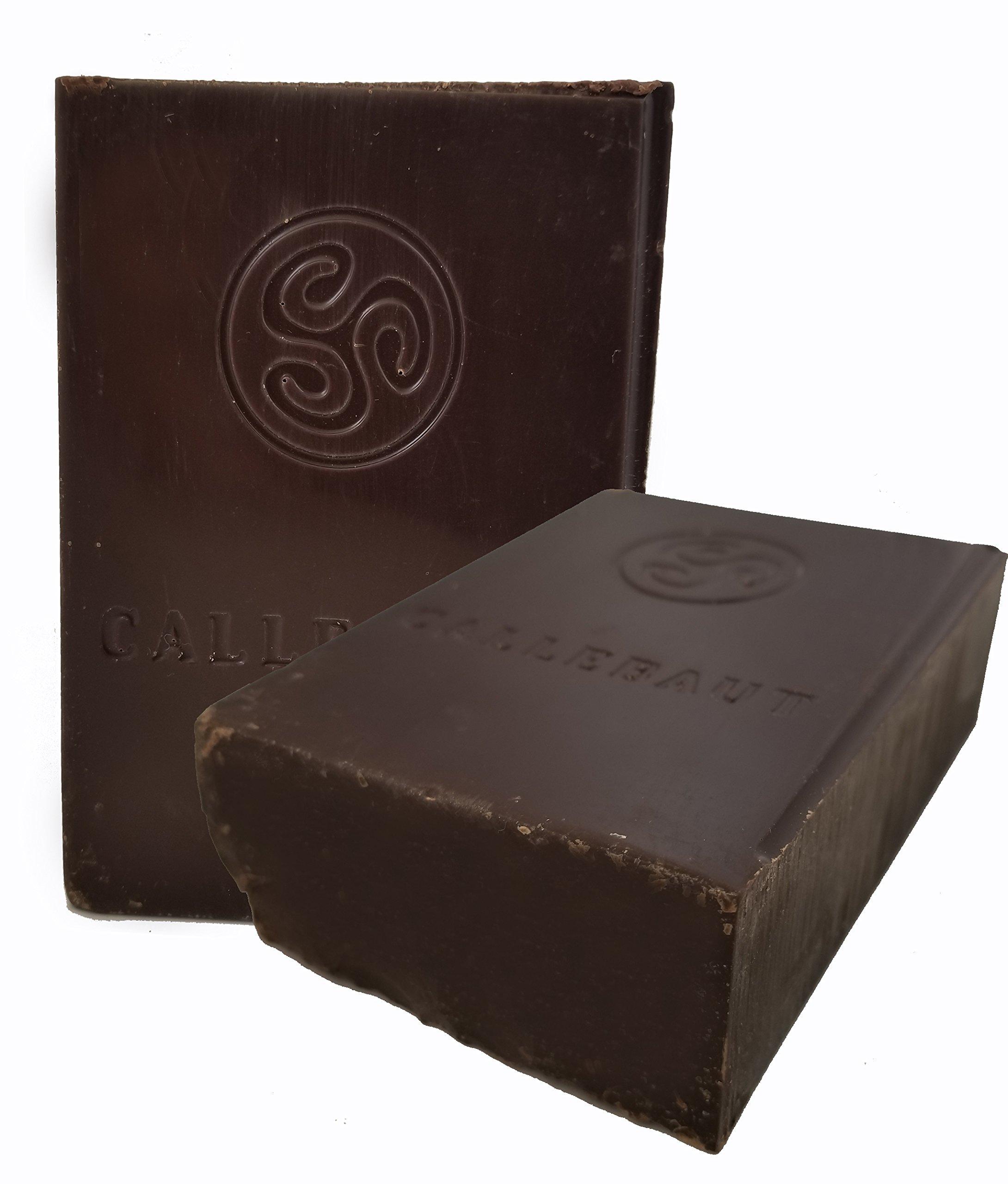Callebaut Finest Belgian Semisweet Chocolate Blocks - Approximately 1 pound per Block - 2 Blocks