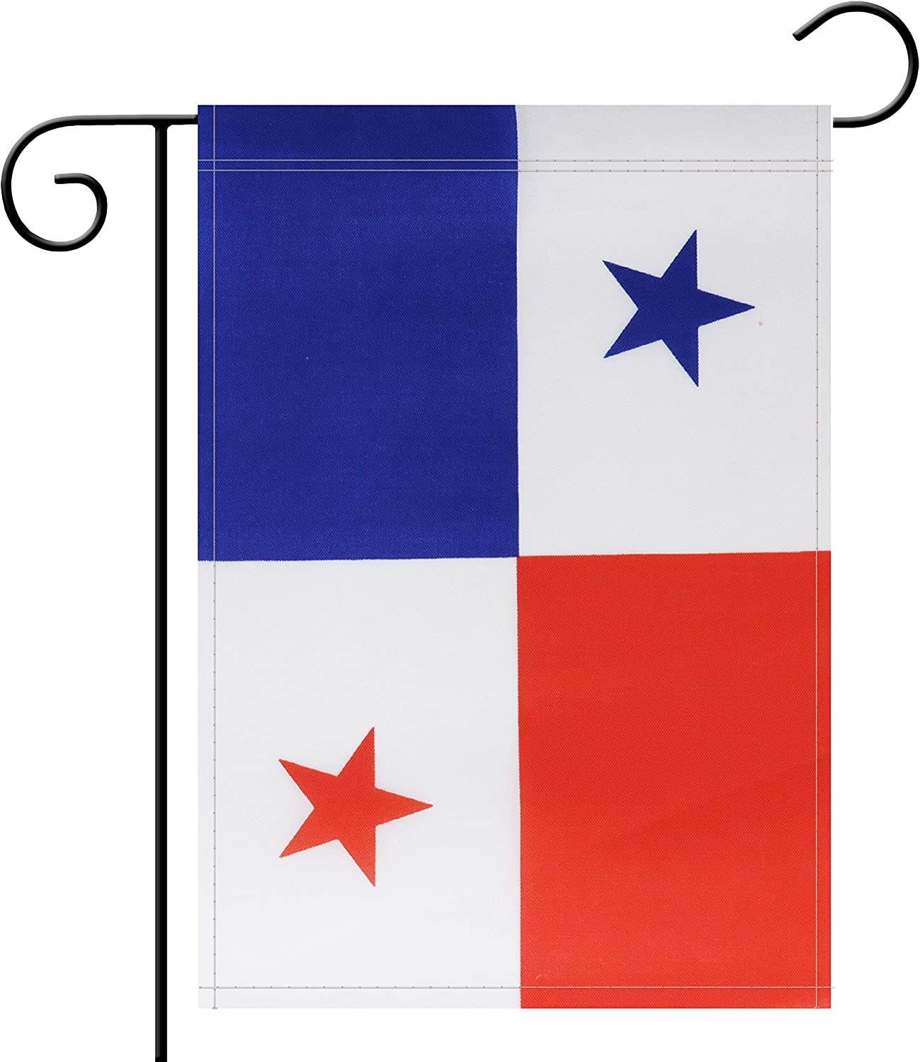 NoLogo Garden Flag Panama Panamanian Garden Flag,Garden Decoration Flag,Indoor and Outdoor Flags,Celebration Parade Flags,Anniversary Celebration, National Day,Double-Sided.