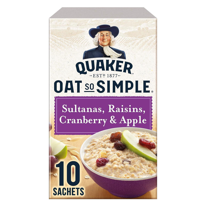 Quaker Oat So Simple Apple Sultana Raisin & Cranberry 385g