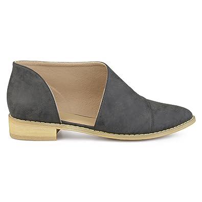 Amazon.com: Brinley Co. Queeny - Zapatos planos de piel ...