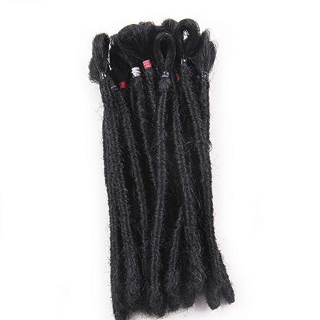 Luxury 1 Strand Handmade Hip-hop Dreadlocks Hair Extensions Crochet Locs Kanekalon Synthetic Hair Dreadlock Braids 20 22 Exquisite In Workmanship