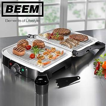 Beem Cerámica Chromalon - Power Barbacoa V2 - Parrilla de contacto: Amazon.es: Hogar