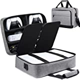 Ztotop for PS5 Travel Case, Compatible with Playstation 5 Console and PS5 Disk/Digital Edition, Carry Case for Playstation Co
