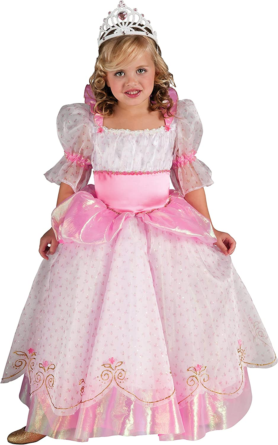 GIRLS BELLE Dress Princess Beauty /& Beast Costume Party Age 4-9 Book Week