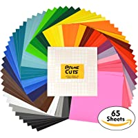 PrimeCuts Permanent Adhesive Backed Vinyl 65- Sheets