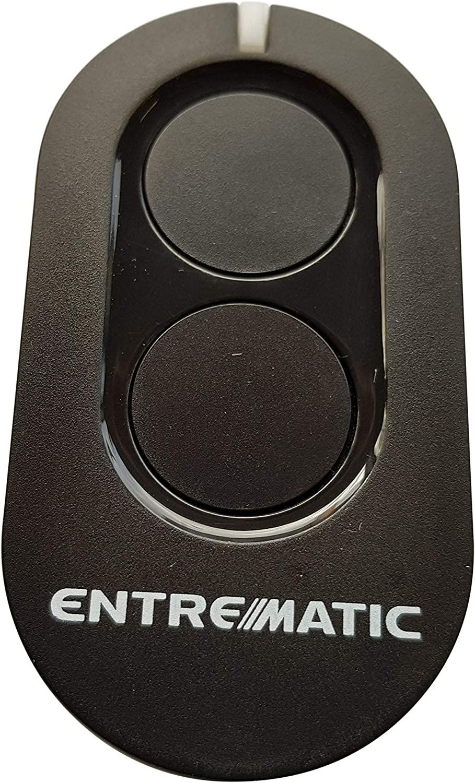 2 x Entrematic ZEN2 Zen 2 Remote Control Compatible with Ditec GOL4 GOL 4 BIXLP2 433.92 MHz