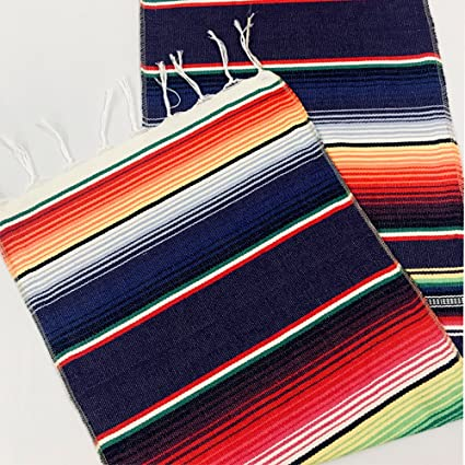 LG Home Mexican Table Runner, Pack Of 1 Mexican Serape Table Runner For  Cinco De