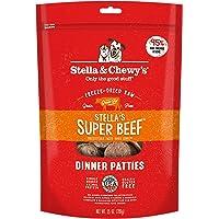 Stella & Chewy's Freeze-Dried Raw Stella's Super Beef Dinner Patties Dog Food, 25 oz. Bag