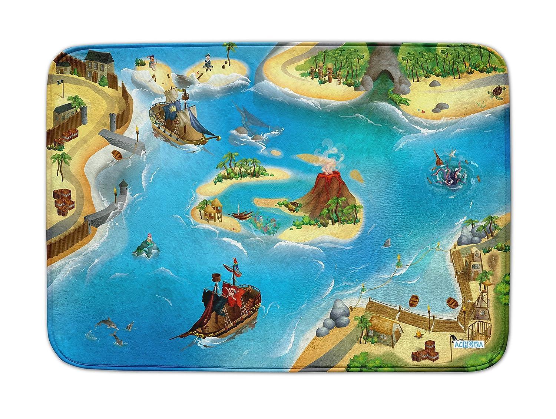 Rutschfest 100 x 150 cm Spielteppich Ultrasoft Piraten