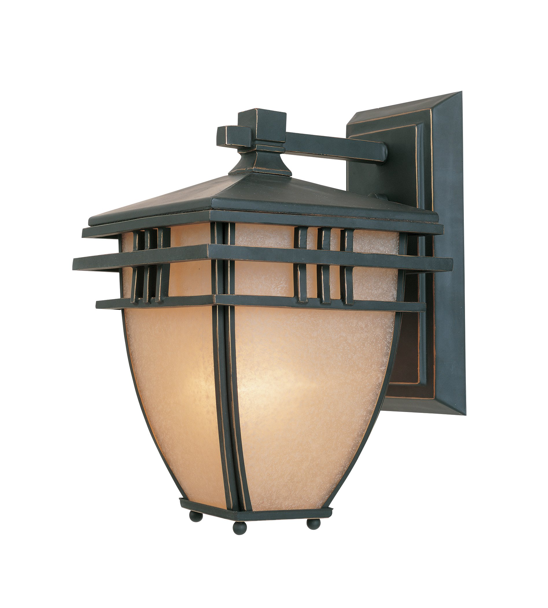 Designers Fountain 30821-ABP Dayton Wall Lanterns, Aged Bronze Patina