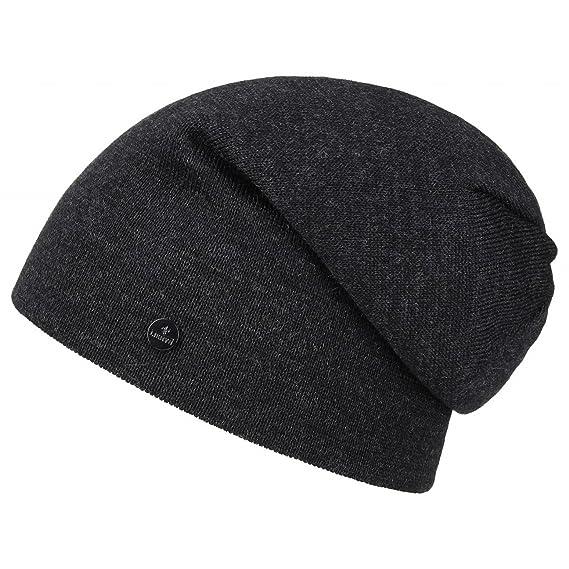4987a7a31f7360 Lierys Fine Merino Long Beanie Men's/Women's (Length: 30 cm) | Knitted hat  Made from Merino Wool | Winter hat in one Size (54-61 cm) Men's hat Autumn/ Winter