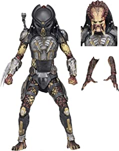 "NECA - Predator (2018) - 7"" Scale Action Figure – Ultimate Fugitive Predator"