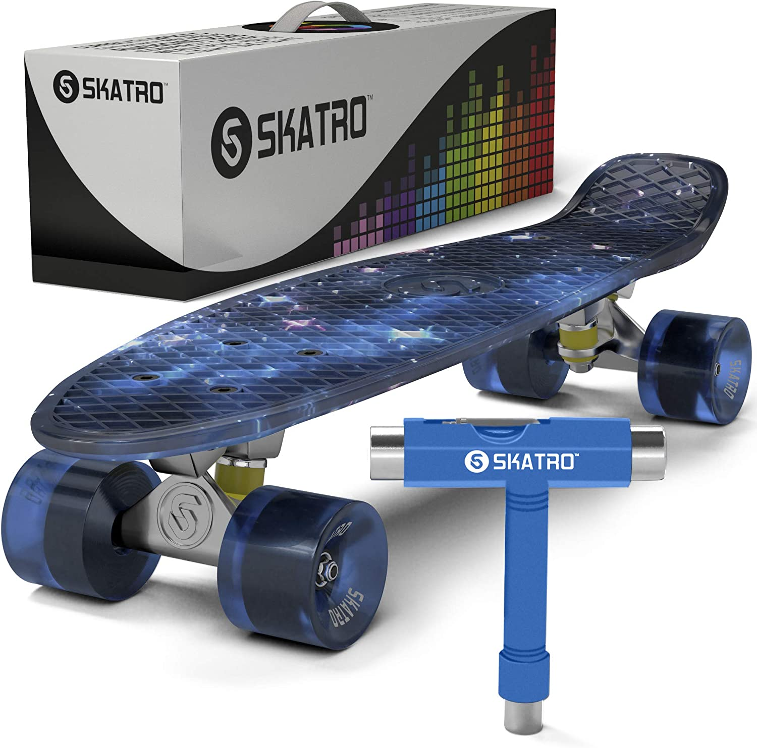 skatro - Mini Cruiser Skateboard / UK