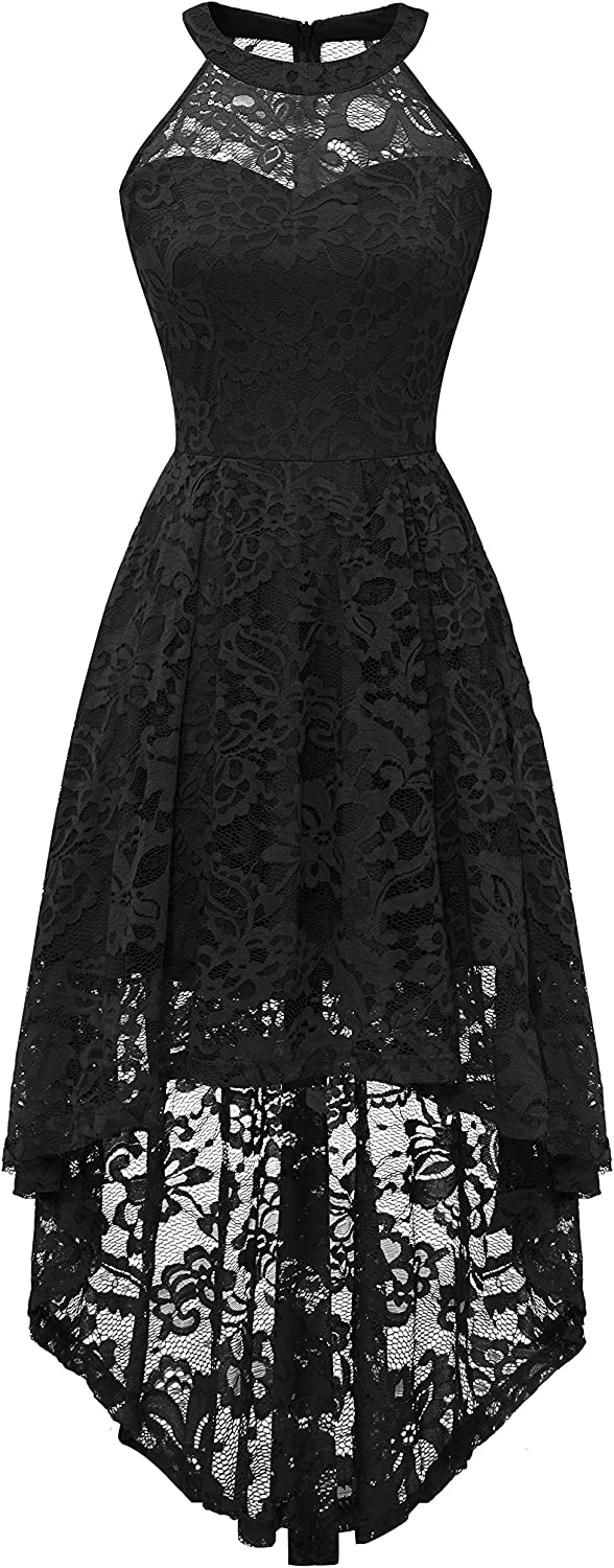 Dressystar Womens V Neck Straps Chiffon Lace Prom Dress Long Wedding Party Gown