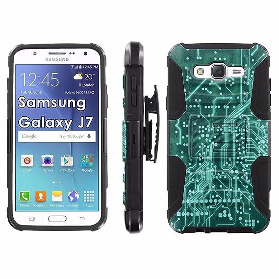 Amazon com: Samsung Galaxy J7 Phone Cover, Circuit Board