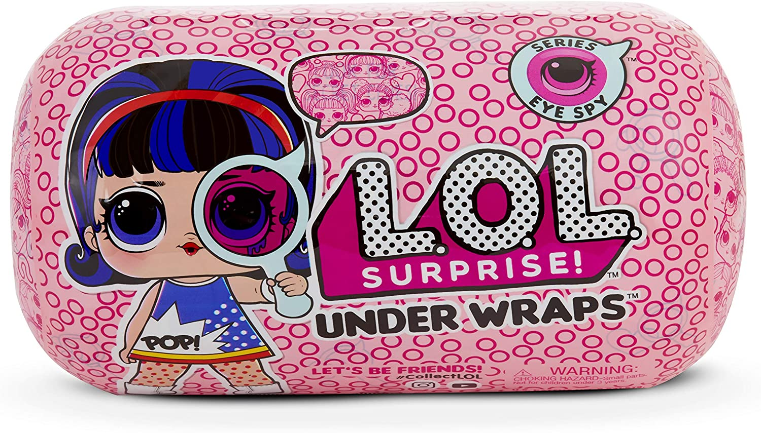 Amazon.es: L.O.L. Surprise! - Under Wraps Serie Espia Muñeca con ...