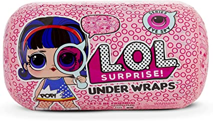 LOL Eye Spy SURPRISE Series 4 Under Wraps Capsule Wave 1 CASE 12 L.O.L Authentic