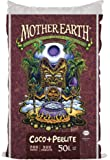 Mother Earth Coco Plus Perlite Mix - For Indoor and Outdoor Container Gardens, Provides Strong Aeration & Drainage, 70…