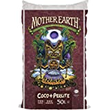 Mother Earth Coco Plus Perlite Mix - For Indoor and Outdoor Container Gardens, Provides Strong Aeration & Drainage, 70% Cocon