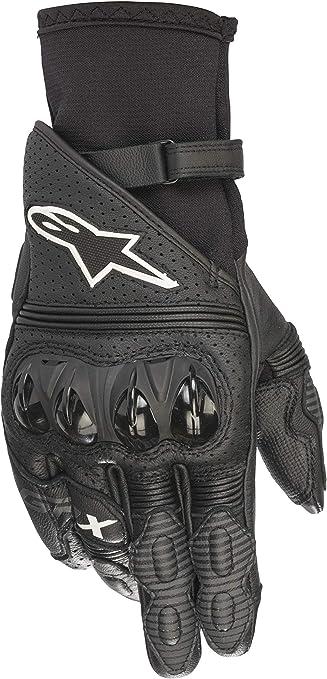 S colore: nero//bianco Alpinestars Gp X V2 Gloves Guanti da moto