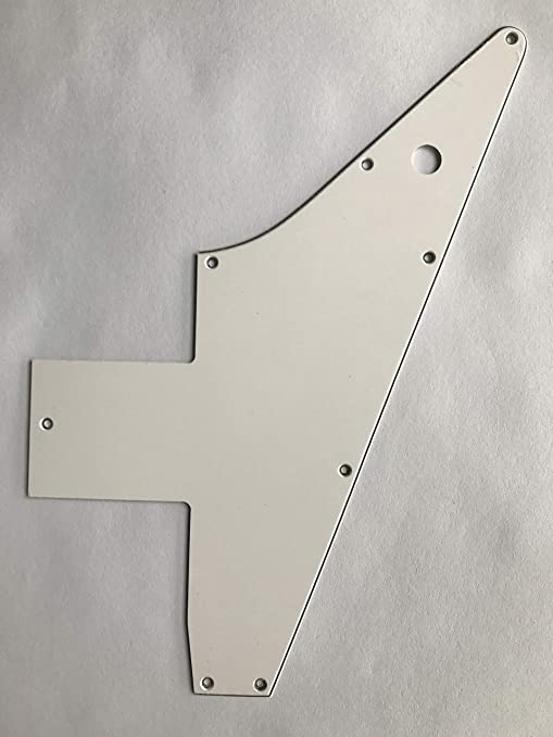 Para Gibson 76 Explorer Re-Issue Guitarra Pickguard Scratch Plate ...