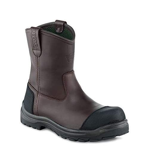 Red Wing 3278 Hombre 9 pulgadas Brown Waterproof Botas seguridad Vibram