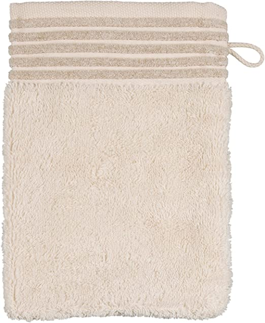 Möve Wellness Manopla de baño, algodón, Natural, 20 x 15 x 0.5 cm ...