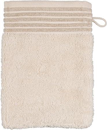 Möve Wellness Manopla de baño, algodón, Natural, 20 x 15 x 0.5 cm: Amazon.es: Hogar