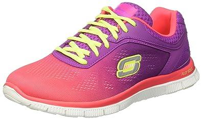Chaussures Skechers Flex Appeal grises Fashion femme UsvagwdPyC
