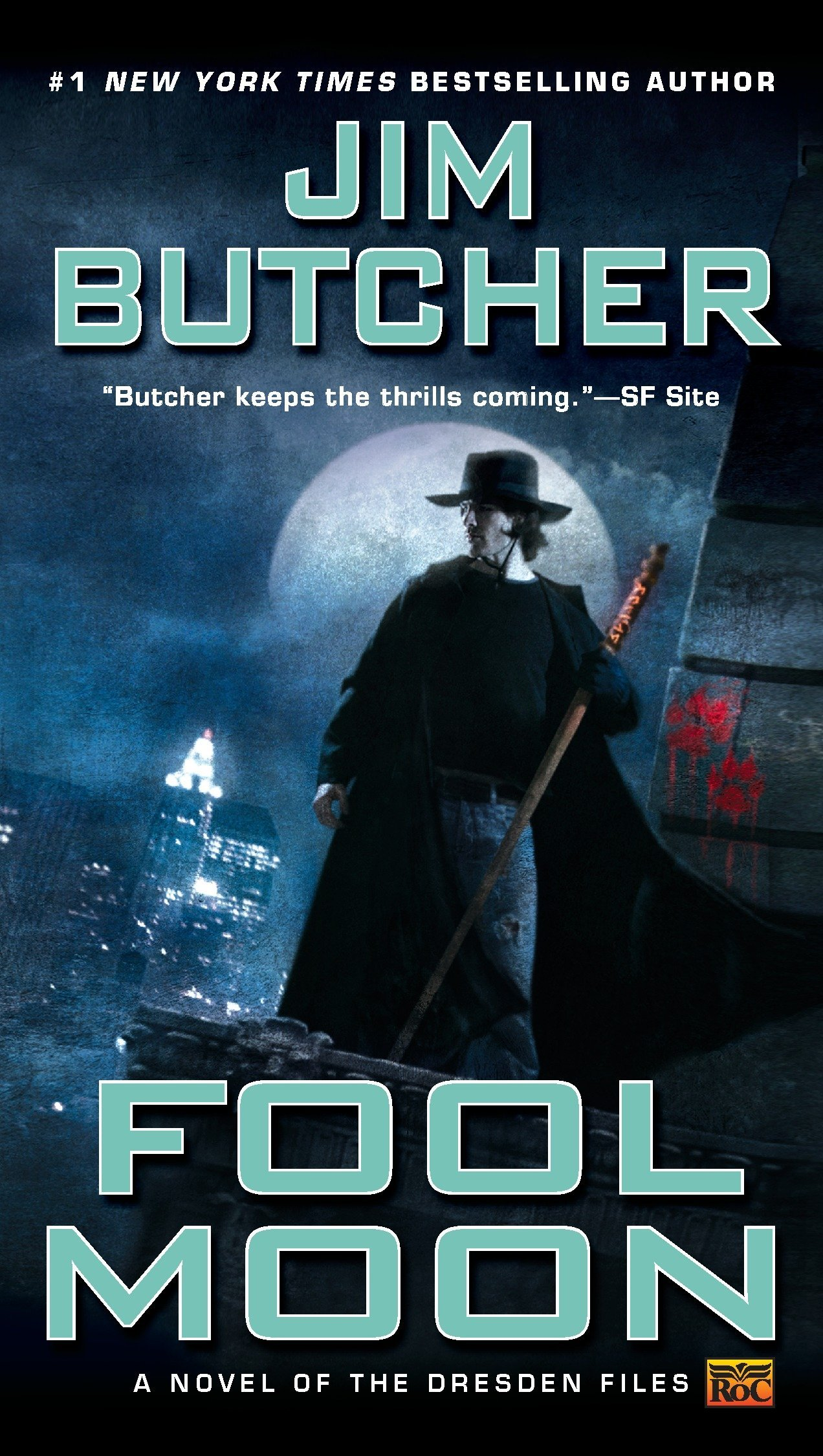 Amazon.com: Fool Moon (Dresden Files) (9780451458124): Jim Butcher: Books