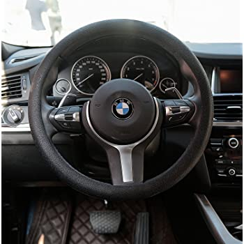 Leather Texture Soft Silicone Car Steering Wheel Cover SWT1200 10 Colors RD