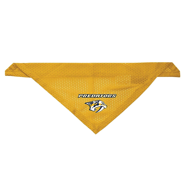 Littlearth Nashville Predators Dog Cat Mesh Jersey Bandana Yellow S/M Little Earth