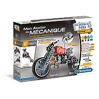 Clementoni - 52216-Atelier Mécanique - Roadster & Dragster-Jeu scientifique