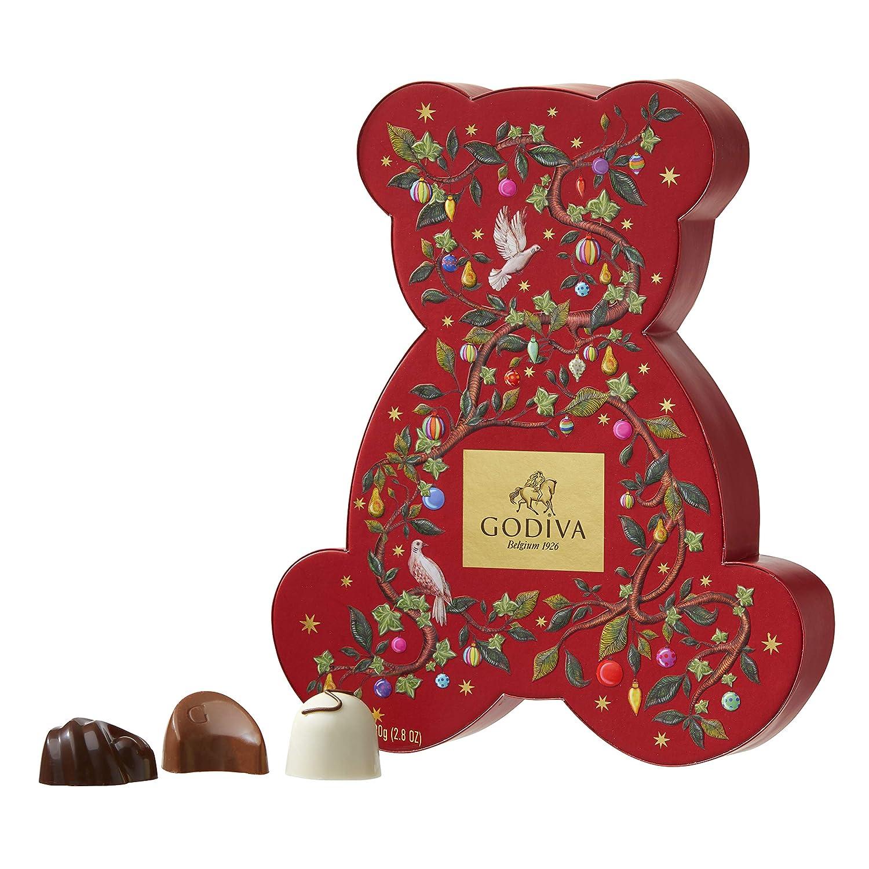 Godiva, Navidad 2018 bombones pralines surtidos caja regalo 7 piezas ...