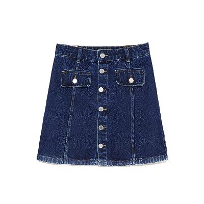 8a63614f3579d3 Zara Femme Mini jupe taille haute à boutons 5520/014 [6LPcS0804969 ...