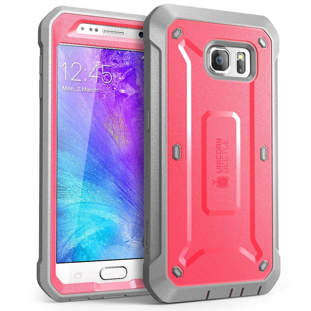 Galaxy S6 Case Supcase Full-Body Rugged Holster Case With Built-In Screen Pro.. 14
