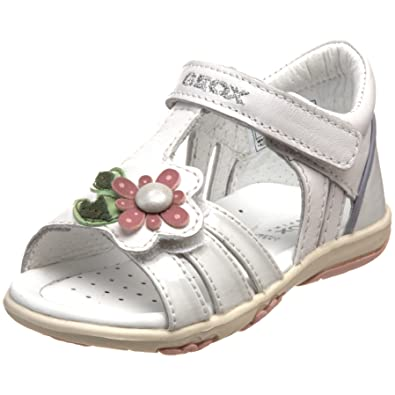 49f14ebcc506 Geox Baby Sandal Nicely Sandals, Baby Girl white Size: 3.5 Child UK ...